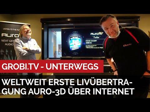 Weltweit erste Livübertragung eines Konzerts in HD und Auro3D über Internet - Besuch bei Auro in Mol