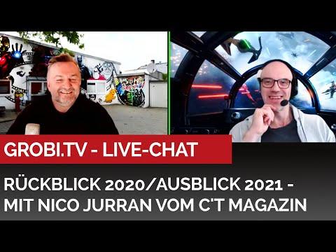 Rückblick 2020/Ausblick 2021 - LiveChat mit Nico Jurran vom c't Magazin #grobitv #heimkinobau #c't
