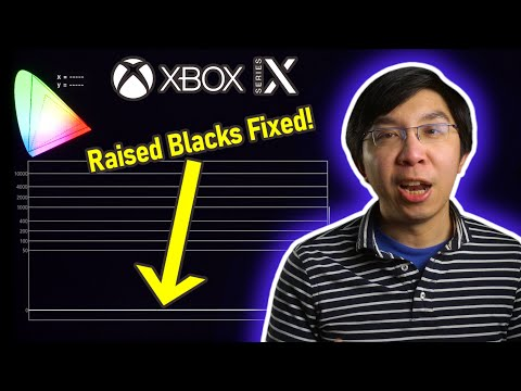 Xbox Series X 4K Blu-ray Player Raised Blacks Fixed by January System Update