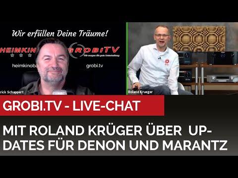 LiveChat mit Roland Krüger aus Anlaß des Software Updates für aktuelle Denon und Marantz Receiver
