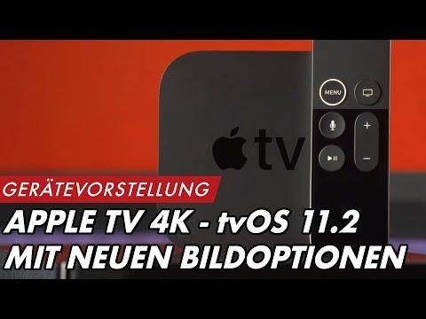 APPLE TV 4K - tvOS 11.2 mit sinnvollen, neuen Bildoptionen | #GROBITV #APPLETV #Heimkinobau #Beamer