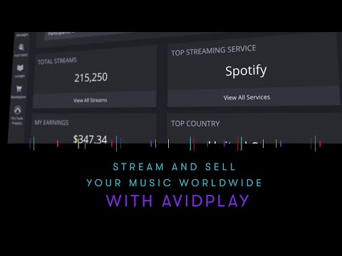 AvidPlay: Stream and sell your music worldwide