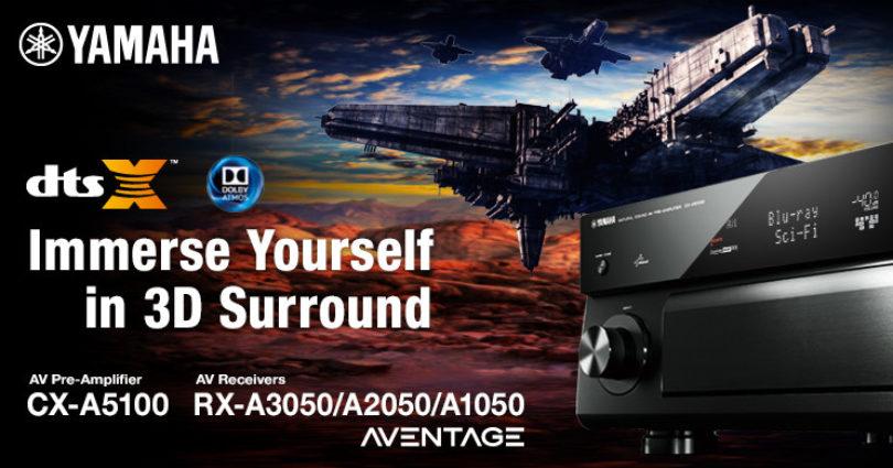 Yamaha gibt Veröffentlichungstermine für DTS:X-Update bekannt
