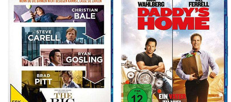 """""""The Big Short"""" und """"Daddy's Home"""": DTS:X-Ton auch auf deutschen Blu-rays"""