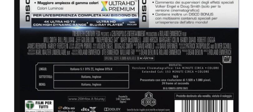 Fox-Titel künftig mit DTS:X-Ton? Cover-Rückseite heizt Spekulationen an