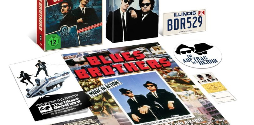 Blues Brothers Edition mit deutschem Atmos-Ton erscheint am 8. September