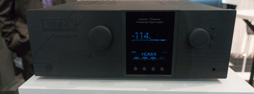 High-End-Vorverstärker Trinnov Audio Altitude32 bekommt DTS:X-Update