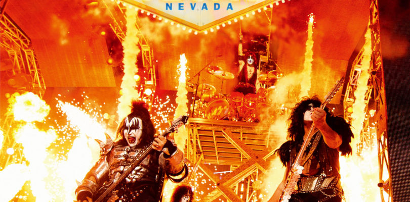 """Konzertmitschnitt """"KISS Rocks Vegas"""" erscheint auf Blu-ray mit Atmos-Ton"""