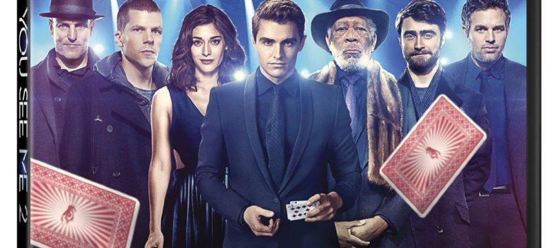 """Now You See Me 2"" auf Blu-ray und Ultra HD Blu-ray mit Atmos-Ton"