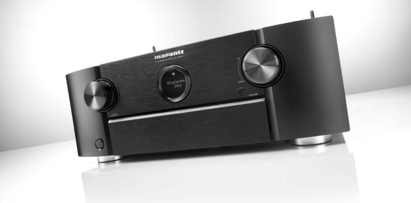 Marantz: Netzwerk-AV-Receiver SR6011 mit 9 Endstufen, 3D-Audio und Ultra-HD (Update)