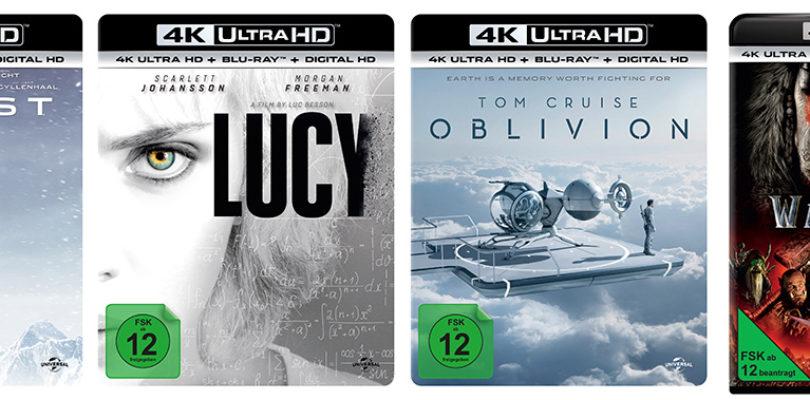 Ultra HD Blu-rays von Universal Pictures ab sofort bei Amazon vorbestellbar