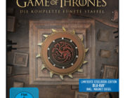 """Game Of Thrones"": Staffel 5 in der Steelbox-Editionen mit Atmos-Ton"