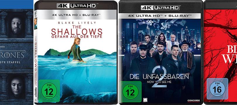 (UHD)-Blu-ray-Vorschau: Diese Titel bieten voraussichtlich Atmos-Sound