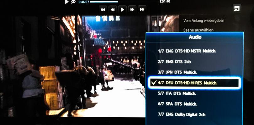 Mumie-Trilogie: Deutscher DTS:X-Ton mit DTS-HD High Resolution als Basis