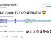 Neues Apple TV soll 4K, Dolby Vision, HDR10 und HLG unterstützen