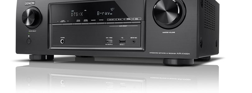 Amazon Black Friday: Denon-Receiver 40 Prozent reduziert – plus 10% Cashback (Update)