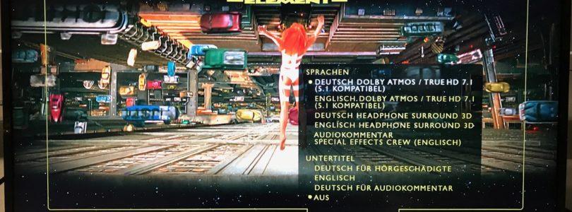 """""""Das Fünfte Element"""" auch mit deutschem Dolby-Atmos-Ton (Update)"""