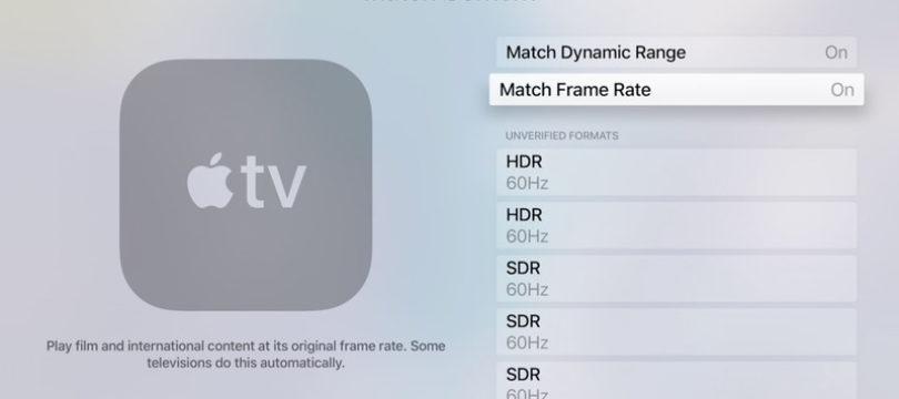 Apple TV 4K: Bildfrequenz und HDR-Ausgabe passt sich künftig Inhalt an