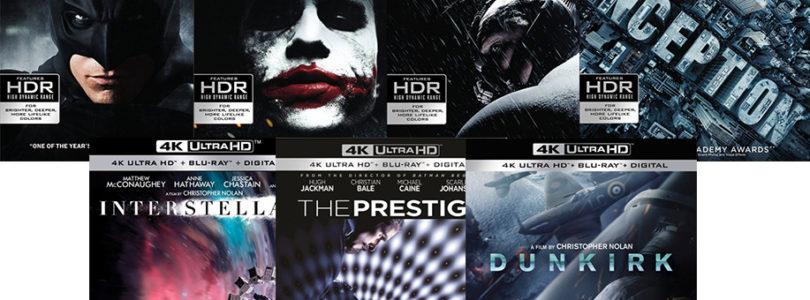 Filme von Christopher Nolan auf Ultra HD Blu-rays: Vorbestellungen ab jetzt (Update)