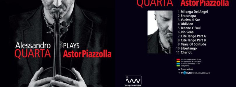 Geigenvirtuose Alessandro Quarta: Neues Album mit Auro-3D und Atmos