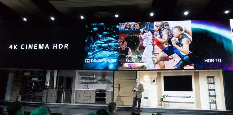 """LG auf der CES: """"HDR-Upmixer"""" und kein Wort zu UHD-BD-Playern"""