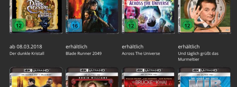 Ultra HD Blu-ray: Sony Pictures startet Offensive – und Amazon senkt Preise auf 20,99 Euro