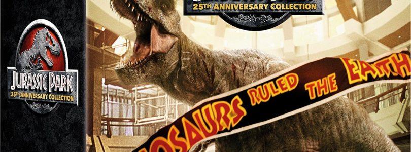 Jurassic Park 1-3 und Jurassic World: 4K-Collection im Steelbook jetzt bei Amazon gelistet