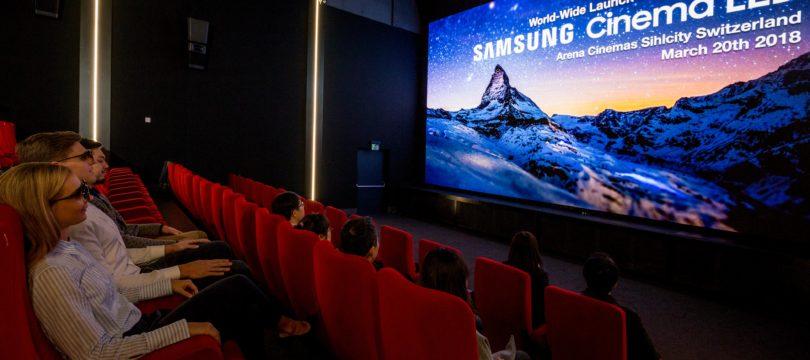 """""""Samsung Onyx Cinema LED"""": Kinosaal mit LED-Bildwand statt Projektion"""