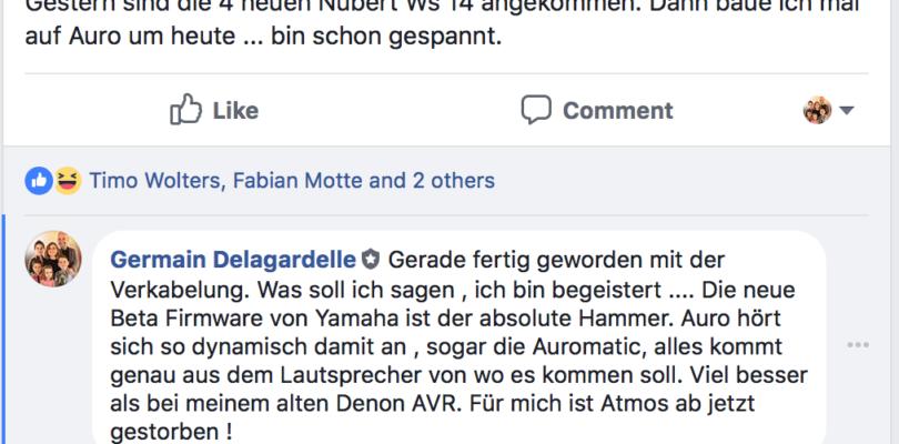 """""""Yamaha-Receiver mit Auro-3D"""": Soviel Wahrheit steckt wirklich hinter dem Aprilscherz"""
