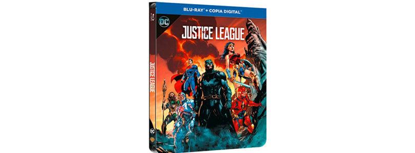 """Justice League"": Amazon bringt Steelbook mit Illustrated Artwork"