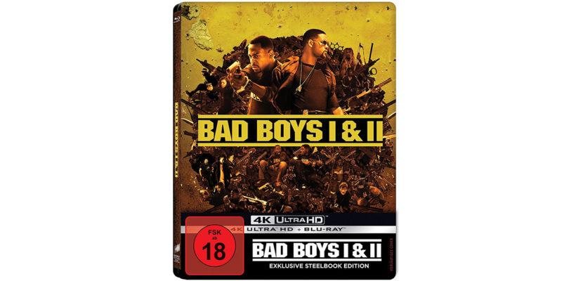 """""""Bad Boys 1 & 2"""": Exklusives 4K-Steelbook wieder bei Amazon vorbestellbar"""