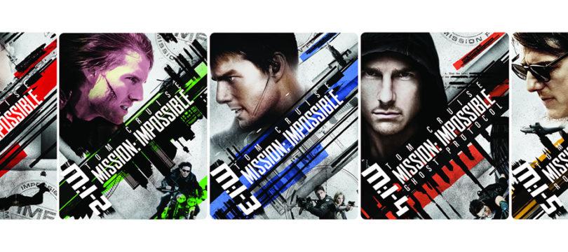 """""""Mission Impossible 1 – 5"""": Zavvi veröffentlicht deutsche 4K-Blu-rays als Steelbooks"""