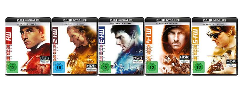 """""""Mission: Impossible 1-5"""": Actionfilm-Reihe erscheint auf 4K-Blu-ray"""