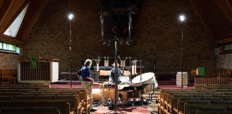 """Utopias"": Percussion-Aufnahme in Auro-3D und Dolby Atmos"