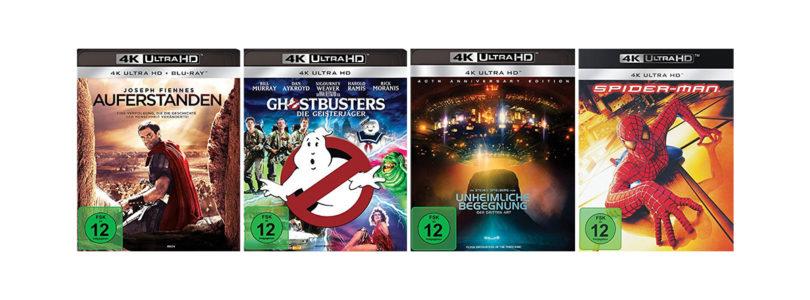 Angebot: 4K-Blu-rays von Sony Pictures für 20 Euro