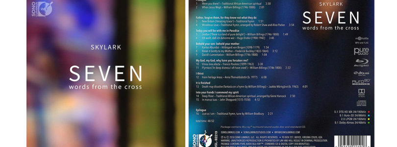 """Seven Words From The Cross"": Pure-Audio-Blu-ray mit Musik in Auro-3D und Dolby Atmos"
