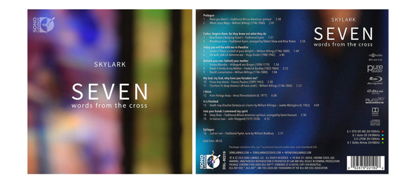 """""""Seven Words From The Cross"""": Pure-Audio-Blu-ray mit Musik in Auro-3D und Dolby Atmos"""