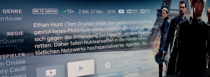 """""""Mission: Impossible – Fallout"""": Deutscher Atmos-Ton bei iTunes, aber nicht auf Disc (Update)"""