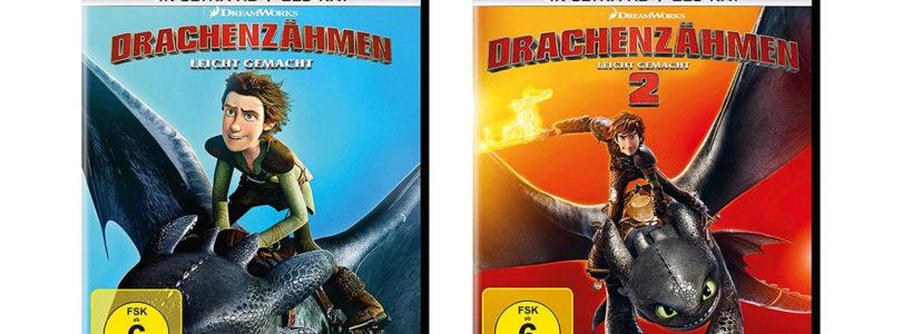"""""""Drachenzähmen leicht gemacht 1+2"""": 4K-Blu-rays jetzt im Vorverkauf"""