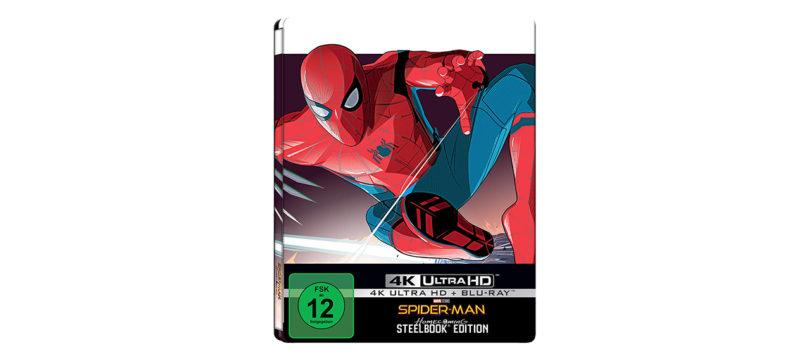 """""""Spider-Man: Homecoming"""": Steelbook-Edition der 4K-Blu-ray im Dezember"""