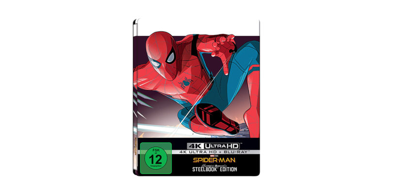 """Spider-Man: Homecoming"": Steelbook-Edition der 4K-Blu-ray im Dezember"