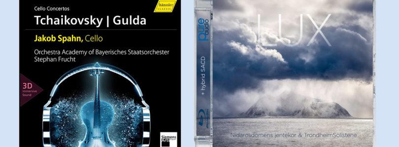 3D-Musik: Zwei weitere Titel mit Auro-3D- und Dolby-Atmos-Ton