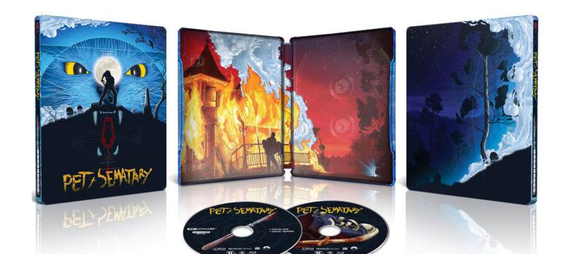 """""""Friedhof der Kuscheltiere"""":  Neue Steelbook-Blu-ray, 4K-Blu-ray bislang nur in UK"""