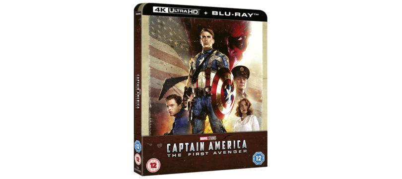 """""""Captain America: The First Avenger"""": Zavvi bietet Steelbook mit deutschem Ton an"""