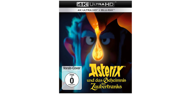 """""""Asterix und das Geheimnis des Zaubertranks"""" erscheint auf Ultra HD Blu-ray und Blu-ray Disc"""