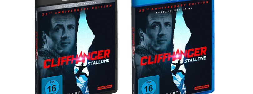 """""""Cliffhanger"""": StudioCanal tauscht Blu-ray und 4K-Blu-ray wegen Tonfehler um"""