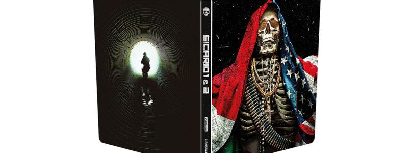 Sicario 1 + 2 in limitierten Steelbook-Editionen auf Blu-ray und 4K-Blu-ray