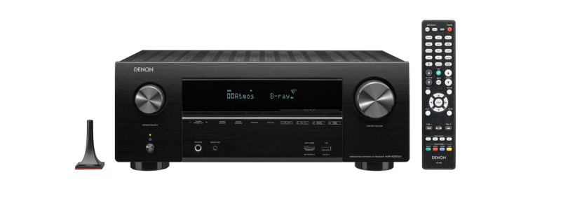 Denon erweitert X-Serie um drei neue AV-Receiver