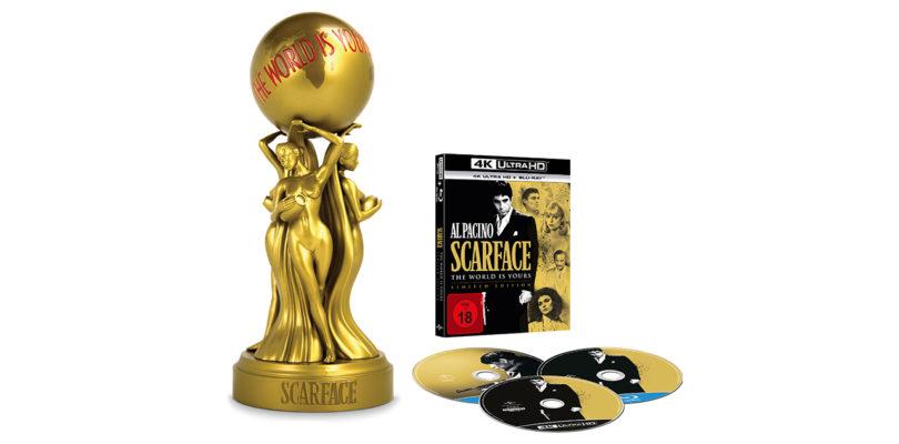 """""""Scarface"""": Limitierte 4K-Sammler-Edition mit Statue (Update)"""