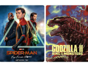 "Steelbooks von ""Spider-Man: Far From Home"" und ""Godzilla II"""